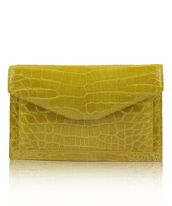 Crocodile Leather Sling Bag