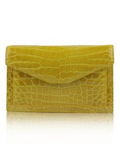 Crocodile Leather Sling Bag