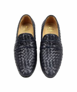 Woven Leather Formal Shoes