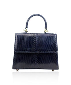 Sea Snake Leather Handbag