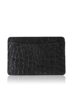 Crocodile Leather Cardholder