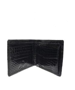 Full Crocodile Leather Wallet , Black