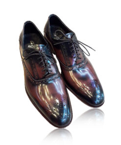 Leather Brogue Shoes , Two Tone