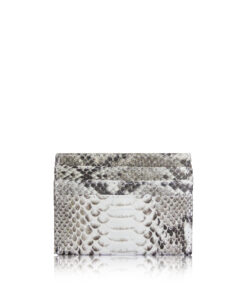 Python Belly Leather Cardholder