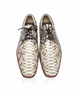 Python Leather Dress Shoes , Natural