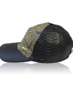 Python Leather Hat , Two Color