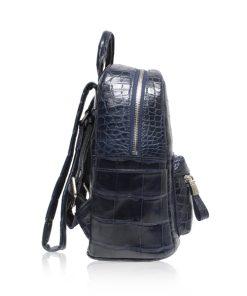 RENNY Crocodile Backpack , Size 21 , Blue