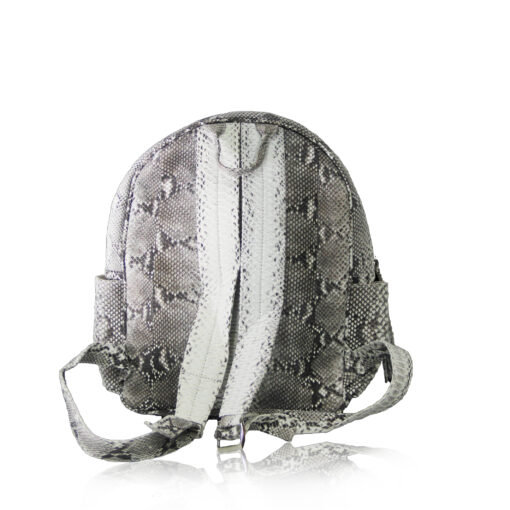 ULTRA Python Leather Backpack , Size 37 , Natural