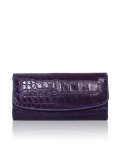 Crocodile Leather Women's Purse