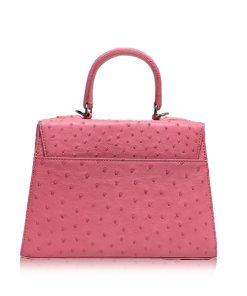 Goldmas Ostrich Leather, Pink, Size 25