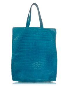 Peter Bag Crocodile Leather Shopping Bag