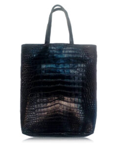 Peter Bag Crocodile Leather Shopping Bag