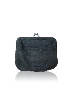 Python Leather Coin Purse