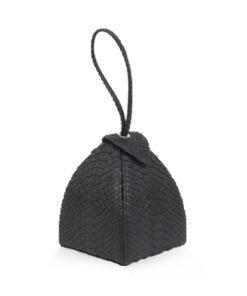MARIA Python Leather, Black