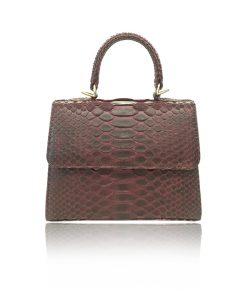 python_skin_handbag