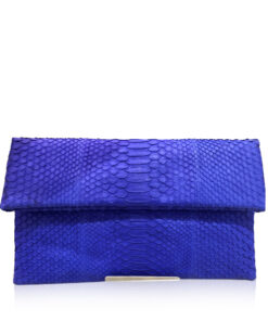 DAISY Python Sling Bag, Matte Royal Blue, Size 28