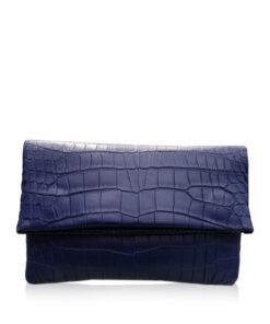 DAISY Crocodile Sling Bag, Matte Royal Blue, Size 23