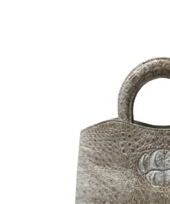 Lindo Himalayan Crocodile Belly Leather Handbag