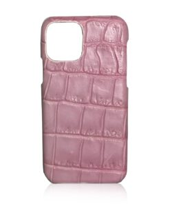 iPhone 12 Crocodile Belly Leather Case