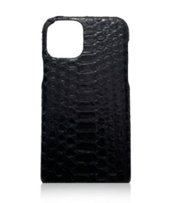 iPhone 12 Python Belly Leather Case Matte Color